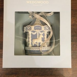 NWT Wedgwood Ornament 2010 Baby's First Christmas